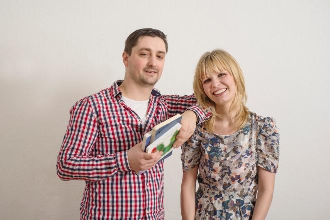 Sarah und Julius, die Gründer von Librileo